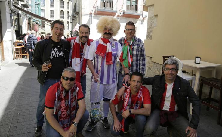 La afición del Athletic toma Valladolid