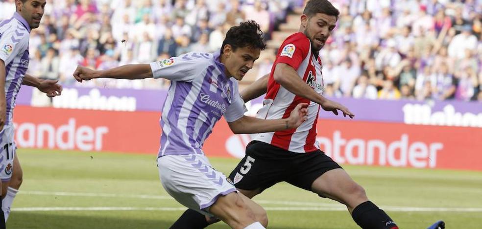 Uno a uno: Enes Ünal, el mejor del Real Valladolid ante el Athletic Club
