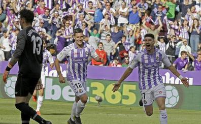 Las cuentas del Real Valladolid se detienen en la jornada 37