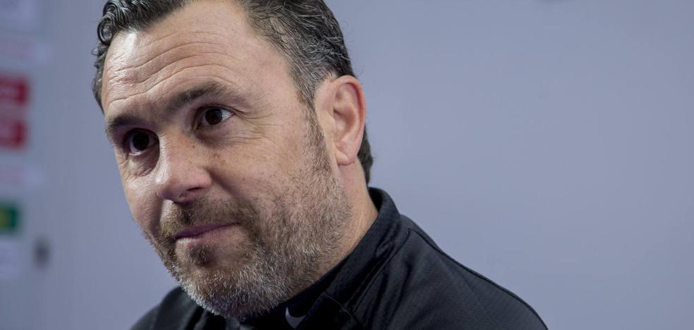 Sergio, preocupado ante una posible relajación en el Real Valladolid: «Si bajamos la frecuencia nos equivocamos»