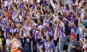 La permanencia del Real Valladolid, en imágenes