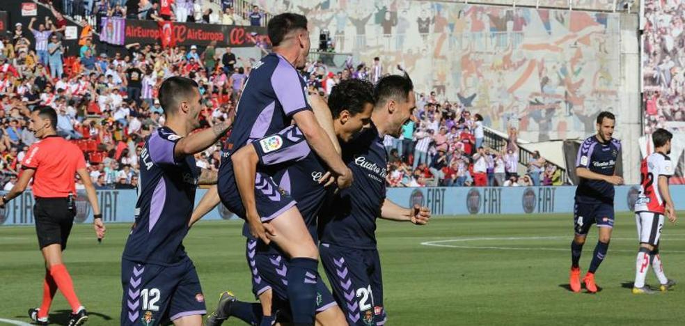 En vídeo, la victoria de la permanencia del Real Valladolid