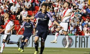 Enes Ünal fue el mejor del Real Valladolid ante el Rayo Vallecano