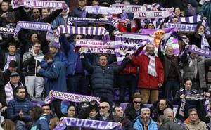 El Real Valladolid decide que la permanencia se festejará solo en el estadio