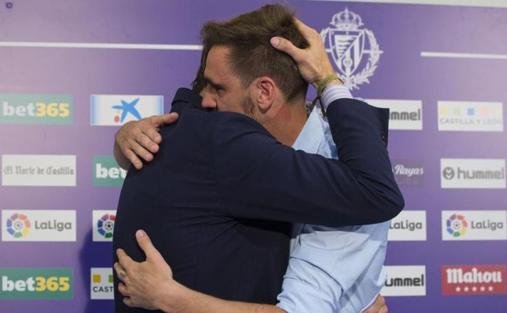 Borja Fernández anuncia su retirada del Real Valladolid