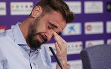 Borja anuncia su retirada entre lágrimas