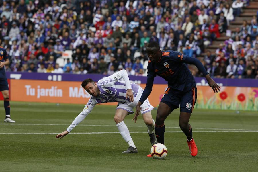 En vídeo, resumen del Real Valladolid-Valencia
