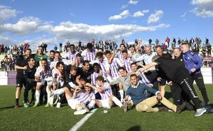 El Real Valladolid B salva la categoría con su duodécima victoria en los Anexos