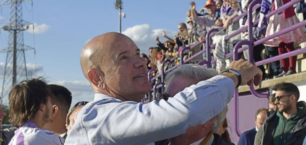 Miguel Rivera deja de ser entrenador del Real Valladolid B