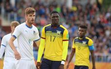 Stiven Plaza no jugó en el tercer partido de Ecuador en el Mundial Sub-20