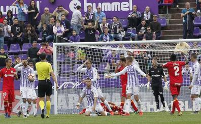 Diez errores del Real Valladolid que costaron goles