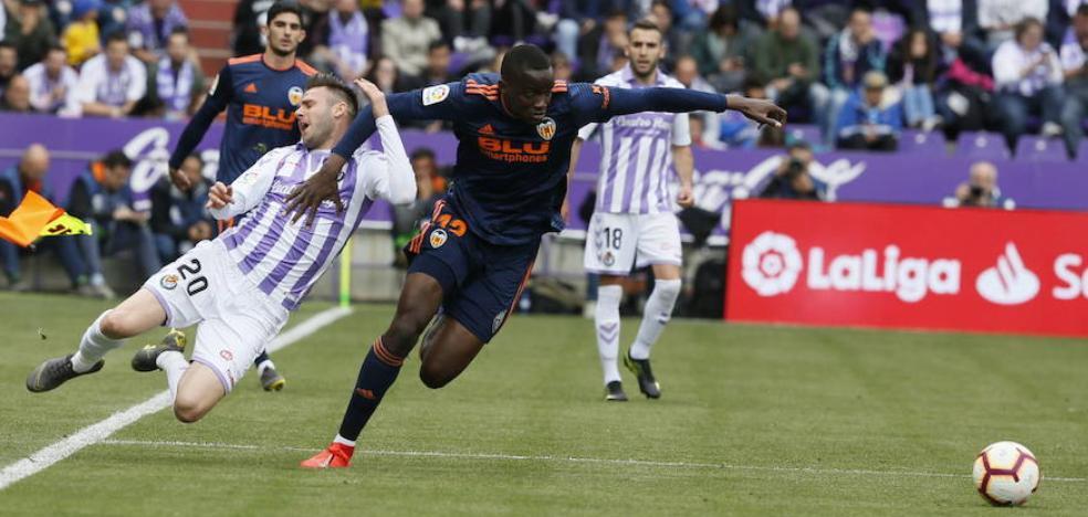 El Real Valladolid no perderá seis puntos ni descenderá de categoría