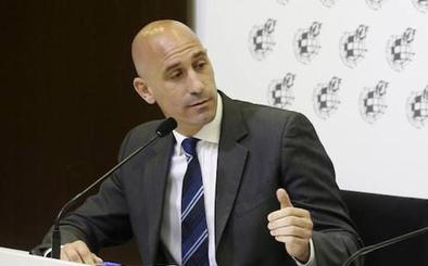 Rubiales elude hablar de sanciones por amaños hasta que no haya sentencia