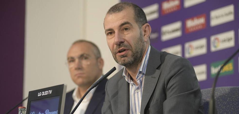 El Real Valladolid piensa en «un proyecto a largo plazo» con Sergio y Miguel Ángel Gómez