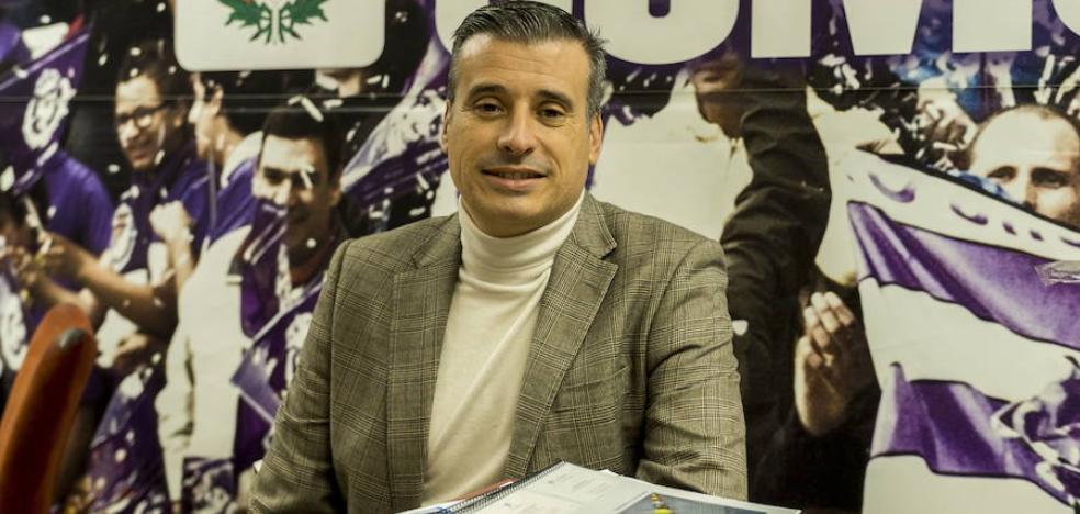 El director deportivo del Real Valladolid continuará en el club