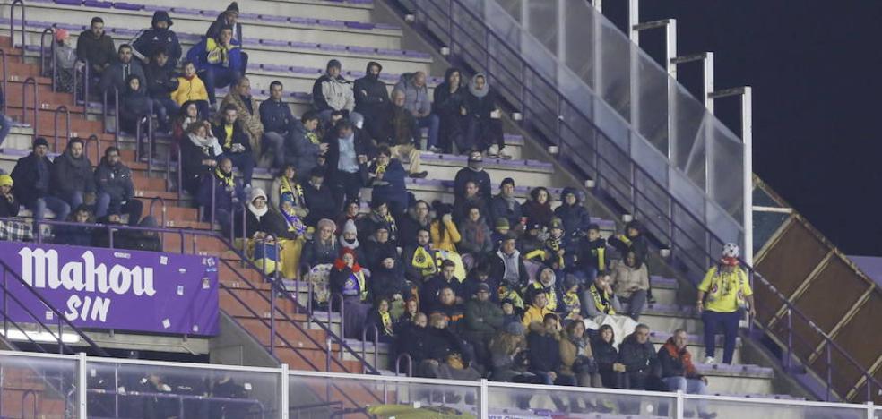 El Real Valladolid aspira a superar los 27.000 socios tras reducir la zona visitante de Zorrilla