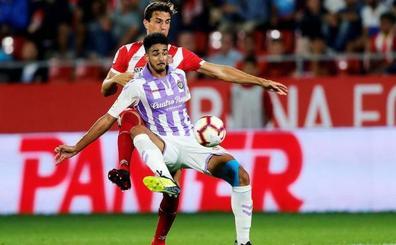 Chris Ramos, del Real Valladolid, el jugador más rápido de la última liga