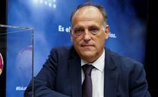 Tebas califica de «fanfarronada» de Aranda implicar a siete jugadores del Valladolid en amaños de partidos