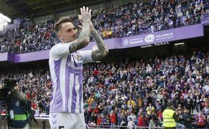 Fernando Calero y Rubén Alcaraz, los jugadores del Real Valladolid más valiosos