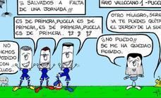Todas las viñetas de Tigua sobre el Real Valladolid, en vídeo