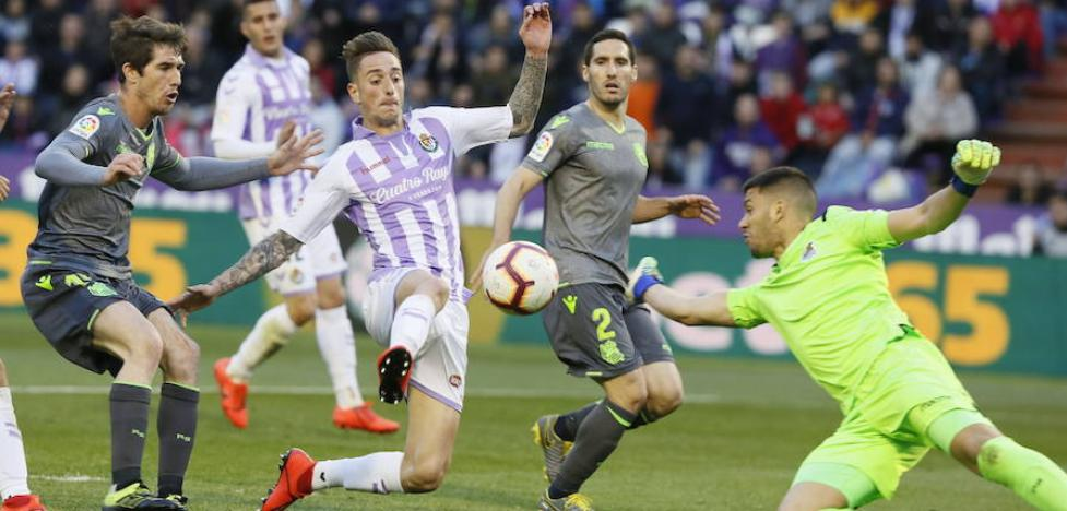 Calero no ha recibido ofertas para salir del Real Valladolid