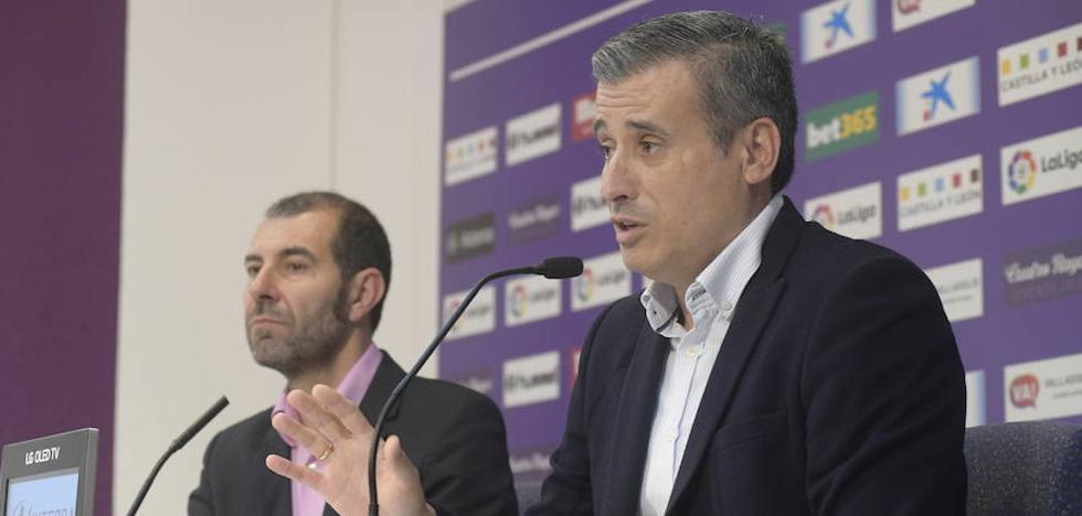 «Hay futbolistas ilusionados por jugar en el Real Valladolid que en otra época no vendrían»