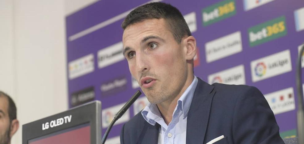 Fede San Emeterio: «Vengo al Real Valladolid a demostrar que puedo hacerme un hueco»