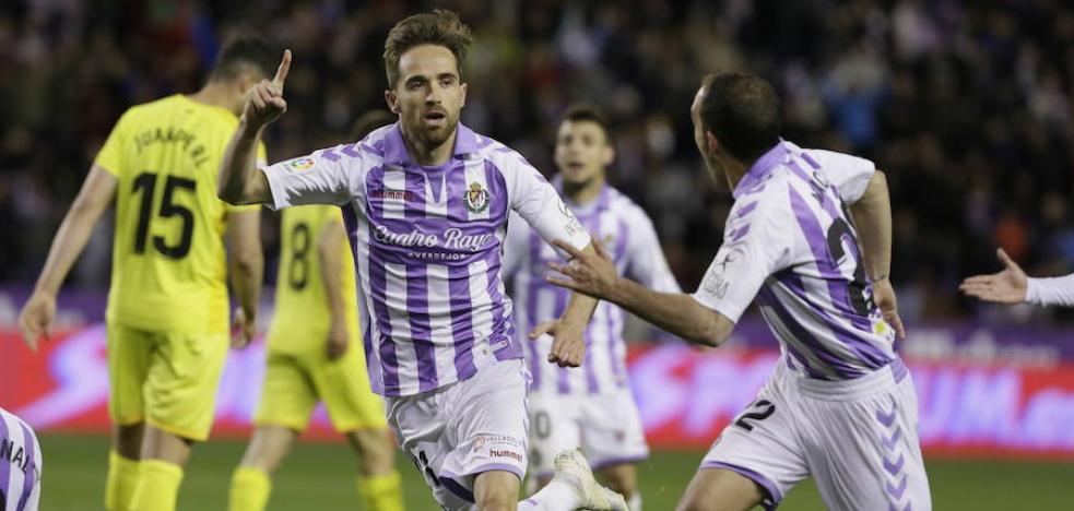 Míchel jugará en el Real Valladolid al menos un año más