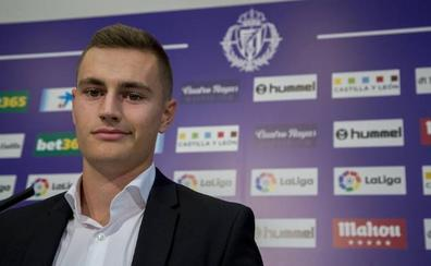 Jorge de Frutos asegura que llegar al Real Valladolid es «un salto muy grande»