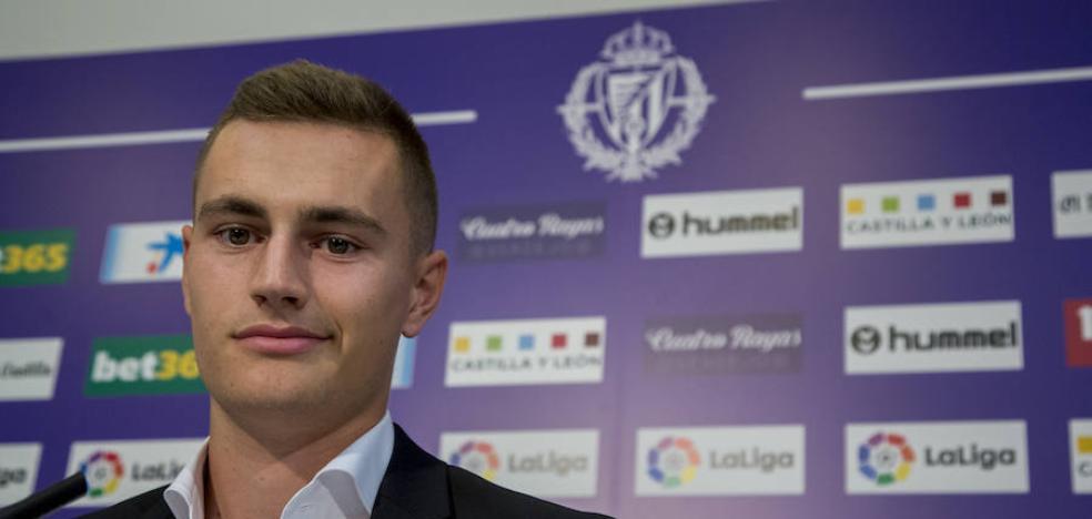 Jorge de Frutos reconocer que llegar al Real Valladolid es «un salto muy grande»