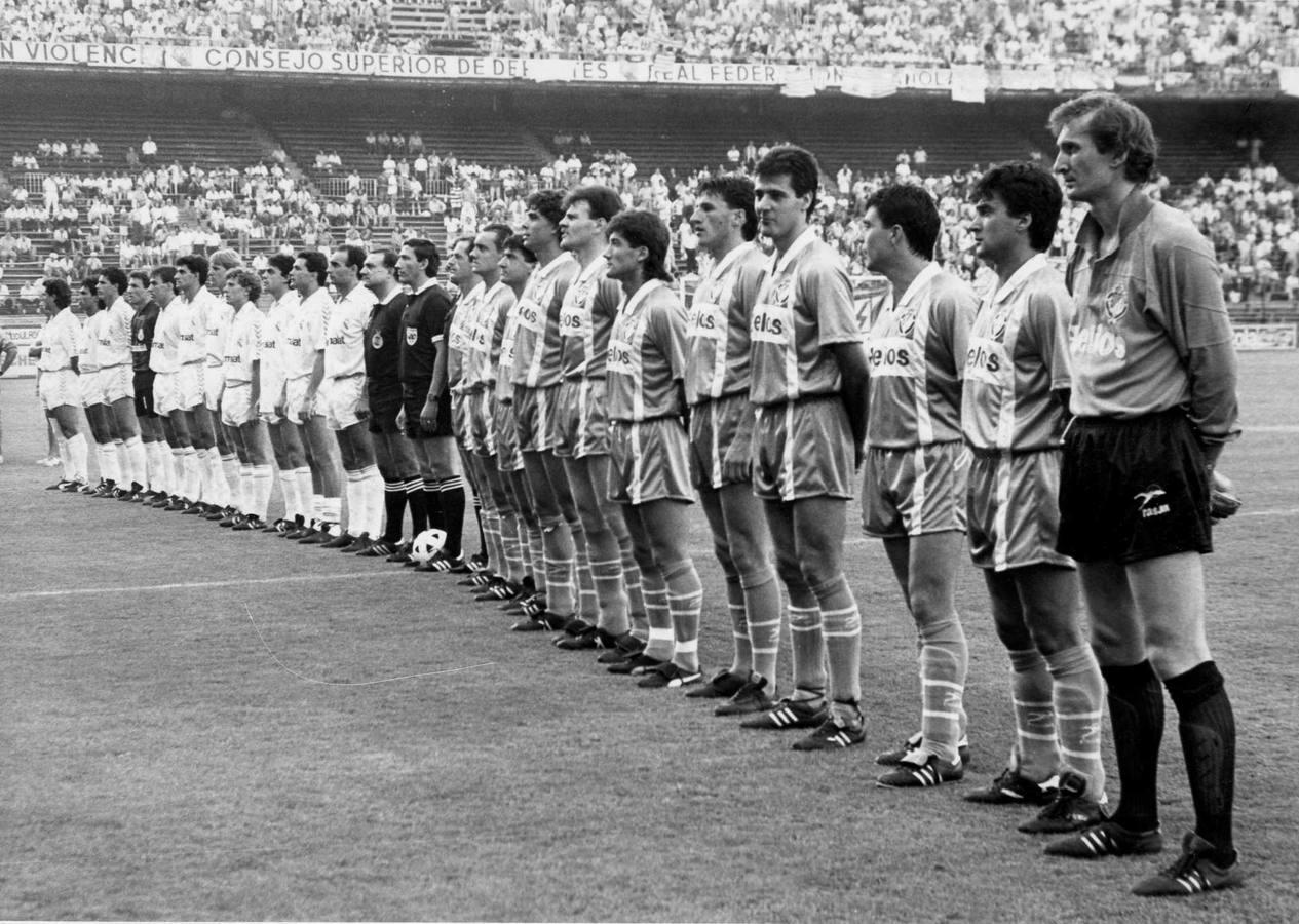 Las imágenes de una final para la historia del Real Valladolid