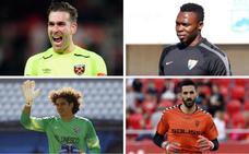 Ochoa, Adrián, Kameni y Tomeu, cuatro opciones del Real Valladolid para competir con Masip