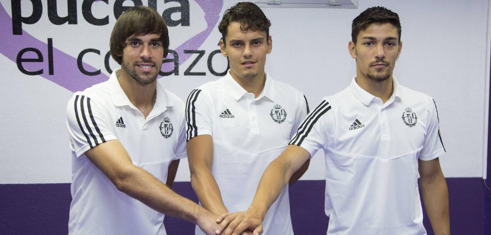 El director deportivo del Real Valladolid considera que la plantilla está completada al 75%