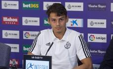Enes Ünal no pudo viajar con el resto del Real Valladolid a Estados Unidos