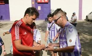 Ünal viajará mañana a Estados Unidos para reunirse con el resto de los jugadores del Real Valladolid