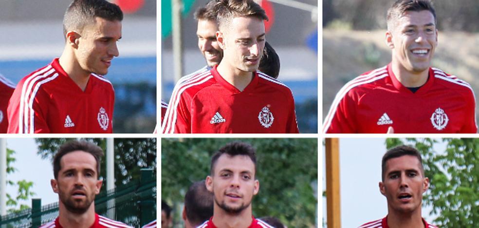 Sergio aspira a mantener la columna vertebral que le dio la permanencia al Real Valladolid