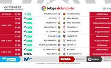 El Real Valladolid debuta ante el Betis el 19 de agosto, a las 22:00