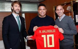 La guerra entre Tebas y Rubiales deja en el aire el debut del Real Valladolid