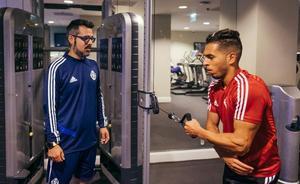 El Real Valladolid 2019/20 se estrena en California sin Anuar y la duda de Hervías