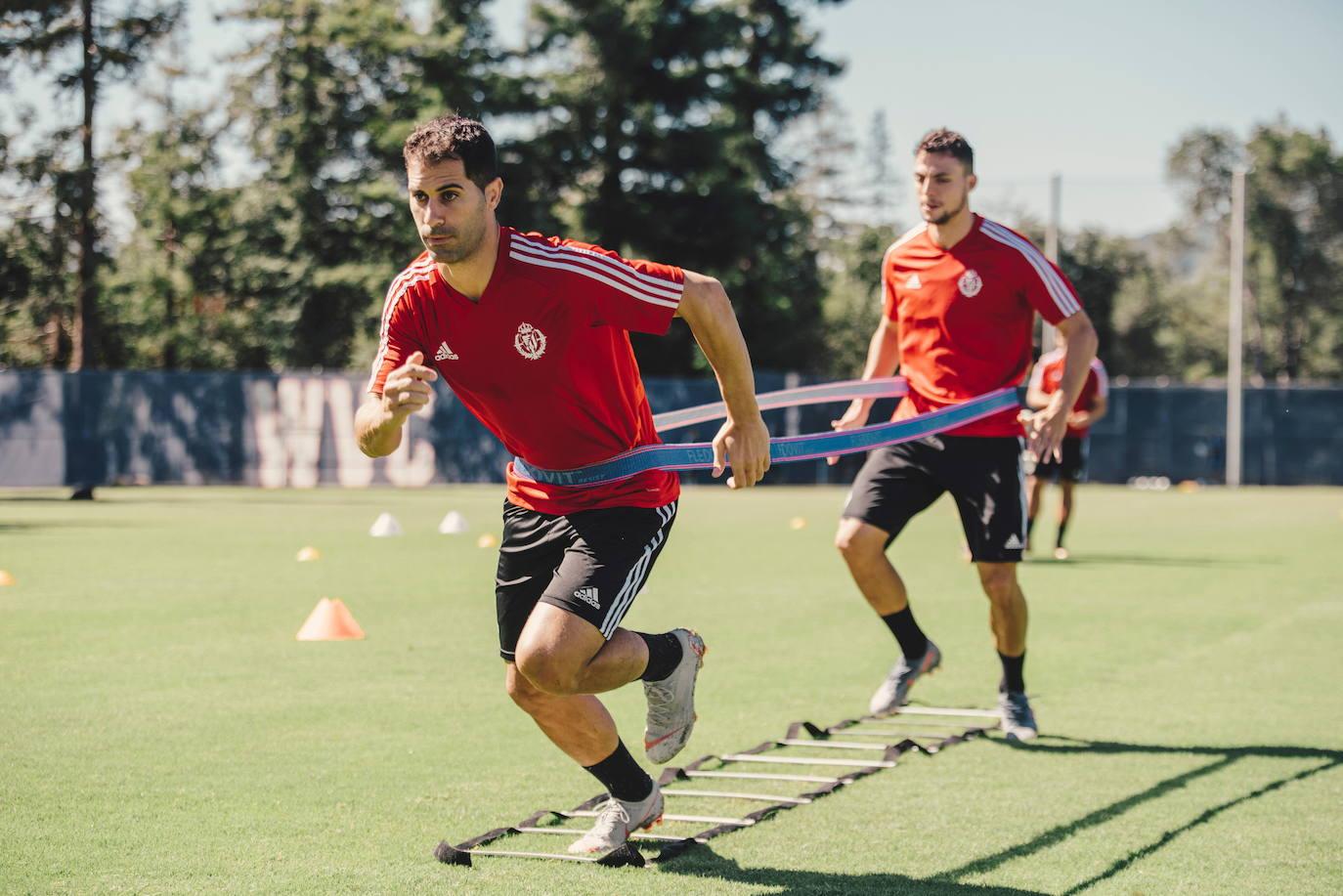 El primer amistoso del Real Valladolid se podrá seguir por 'streaming'