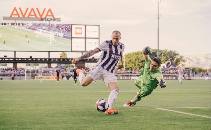 El primer partido de la temporada del Real Valladolid