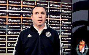 Sergio destaca el trabajo defensivo en el empate del Real Valladolid ante el Cardiff