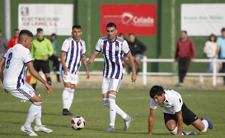 El Valladolid Promesas empata con el Burgos 2-2