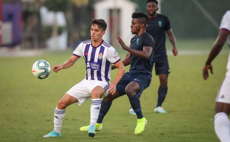 Derrota del Real Valladolid en el amistoso ante el Granada 2- 1