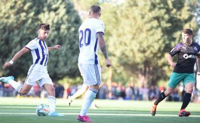 El Real Valladolid afronta ante el Granada el primer examen para determinados jugadores