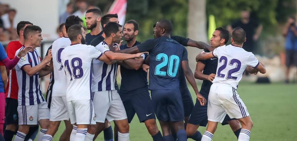 Primera derrota del Real Valladolid
