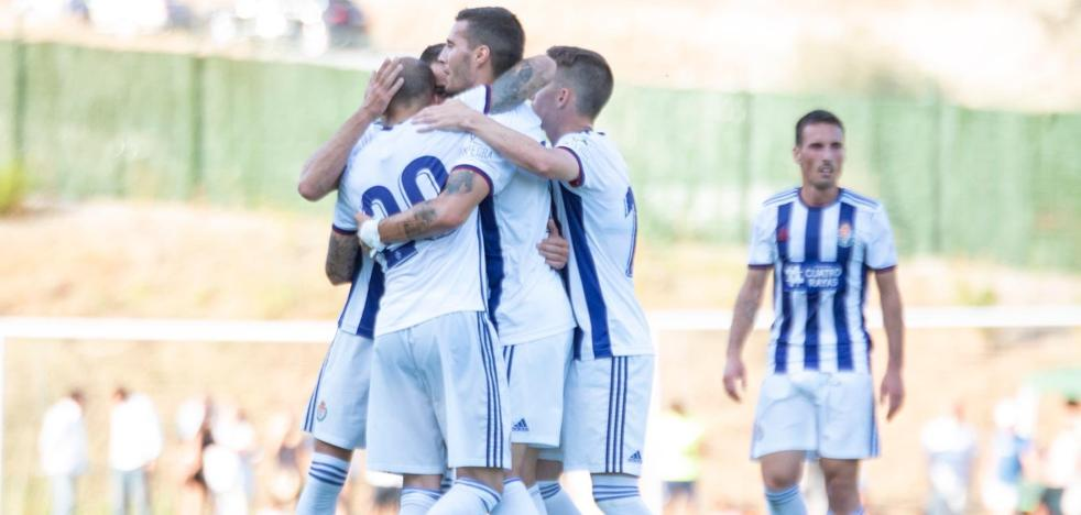El Real Valladolid suma un nuevo empate en pretemporada, esta vez ante el Mallorca (2-2)