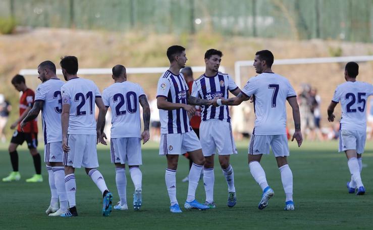 El Real Valladolid empata con el Mallorca (2-2)