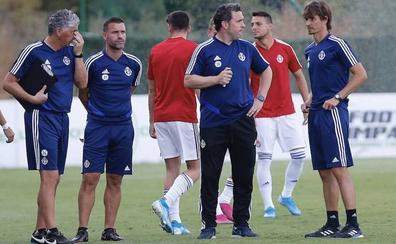 Sergio, con la mosca detrás de la oreja: «Granada y Mallorca han estado un puntito por encima en lo físico»