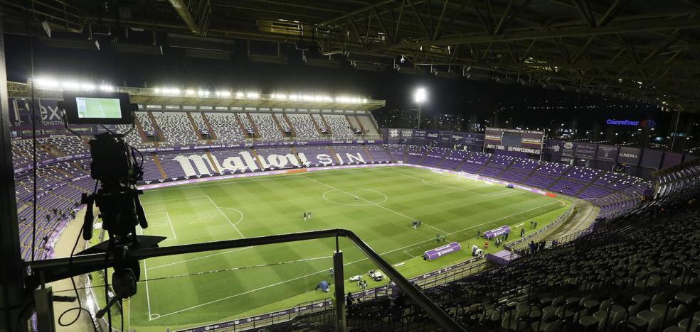 Nueve de cada diez euros que ingresa el Real Valladolid proceden de la televisión